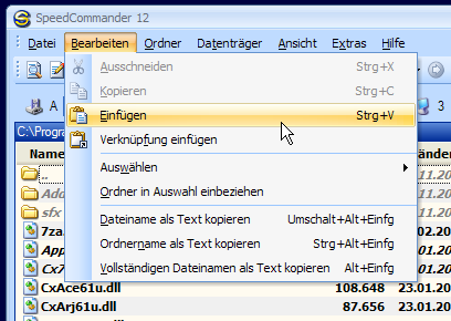 SC im Office 2007-Design (XP) mit eigener Titelzeile