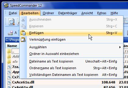 SC im Office 2007-Design (Vista)