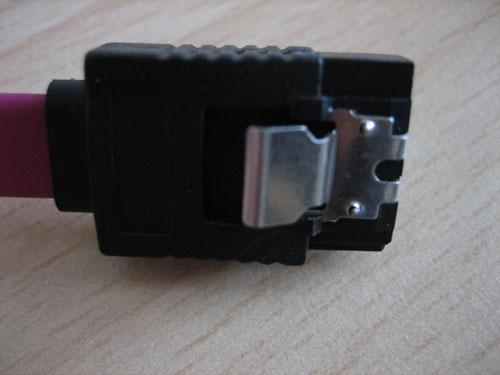 SATA-Kabel mit Clip